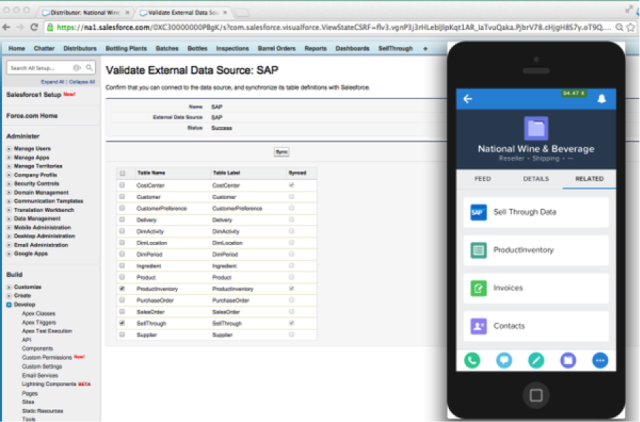 Access Salesforce Data From External Sources with Lightning Connect