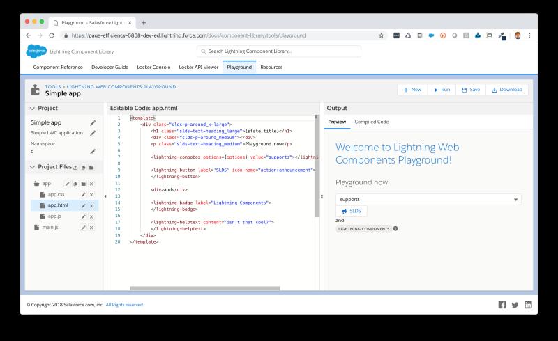 Developer Tools for Lightning Web Components | Developer Force Blog