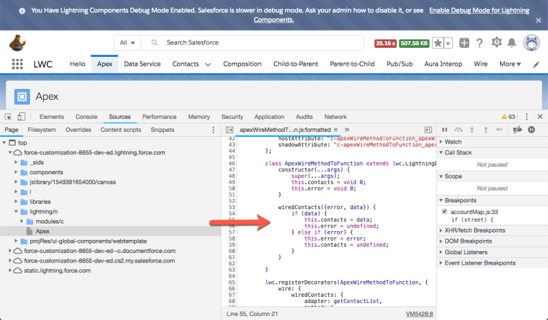 Debug Your Lightning Web Components | Developer Force Blog