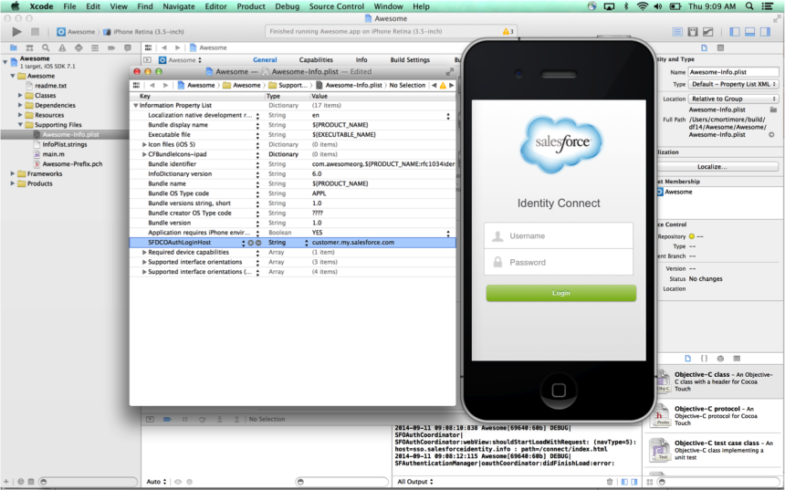Implementing Single Sign-On in Mobile Applications with Salesforce