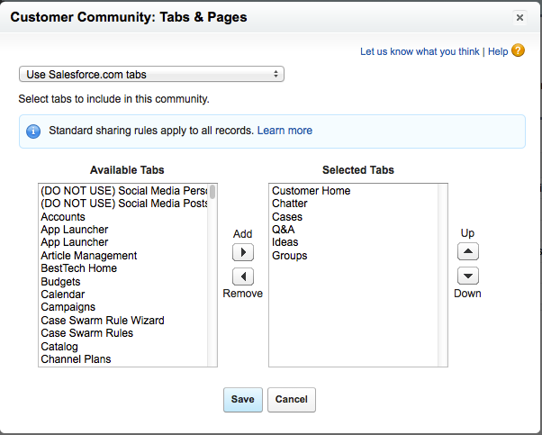 Communities Containers: Options for Building Salesforce