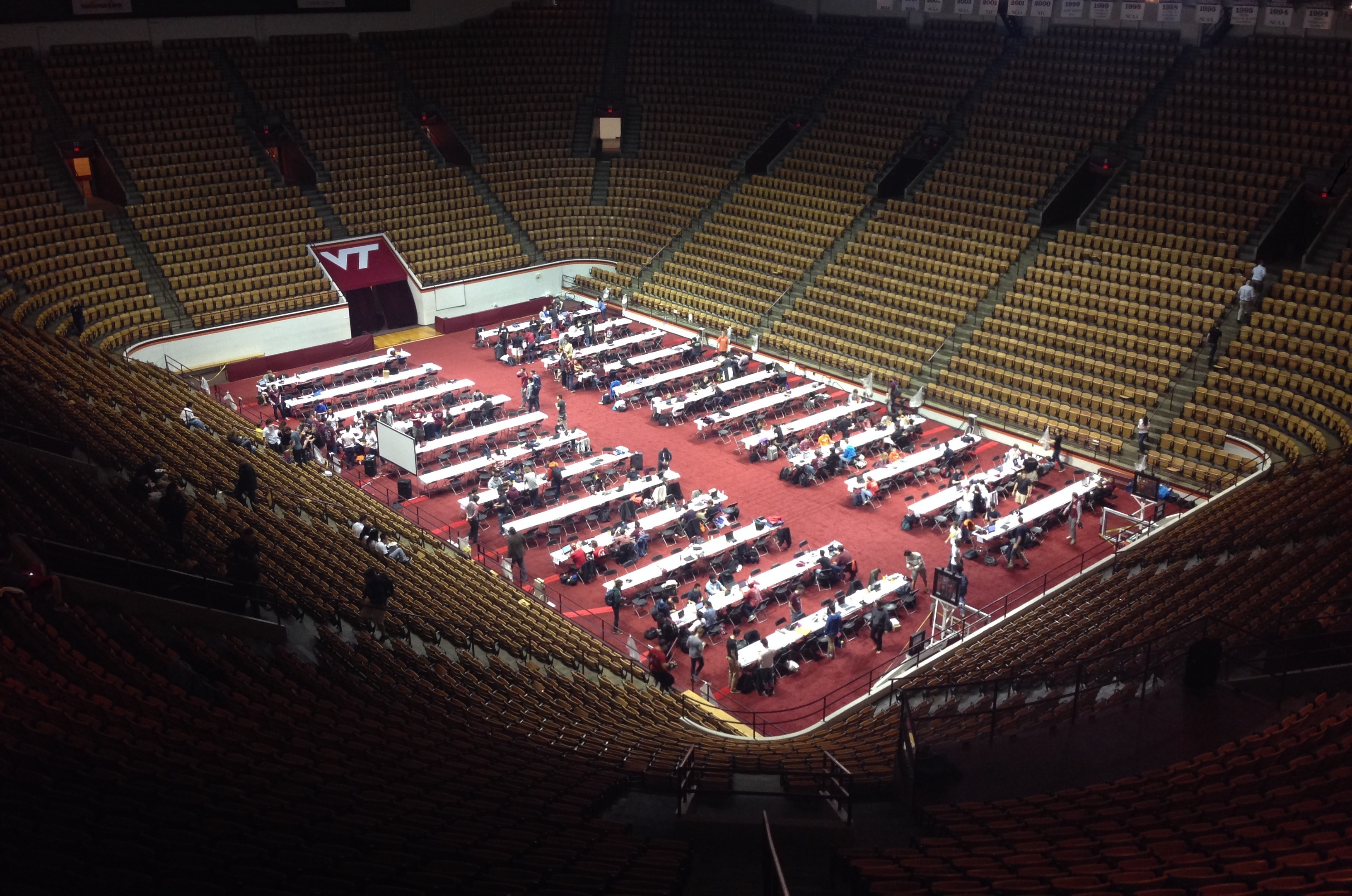 VT Hacks: The Colossal Hackathon in Cassell Coliseum