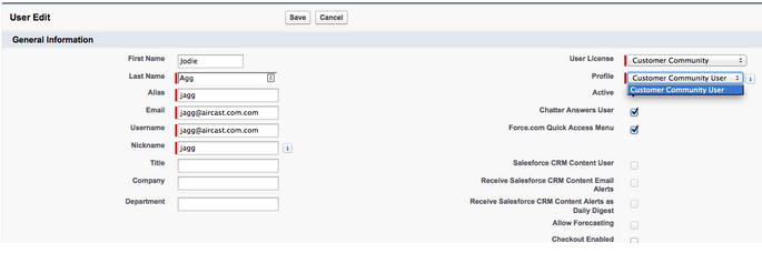 How to Provision Salesforce Communities Users?   Developer