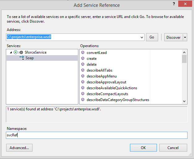 Accessing Force com SOAP Endpoints with  NET | Developer