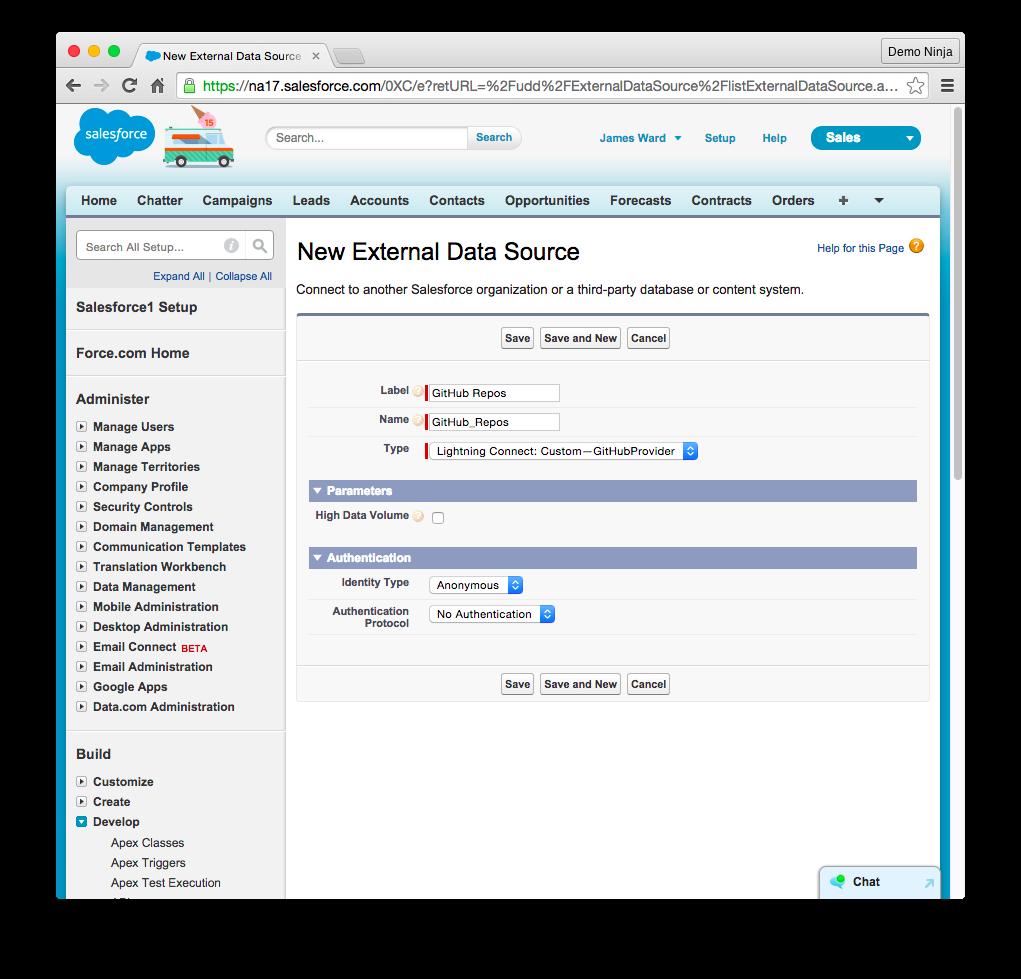 Rendering GitHub JSON Data in Salesforce | Developer Force Blog