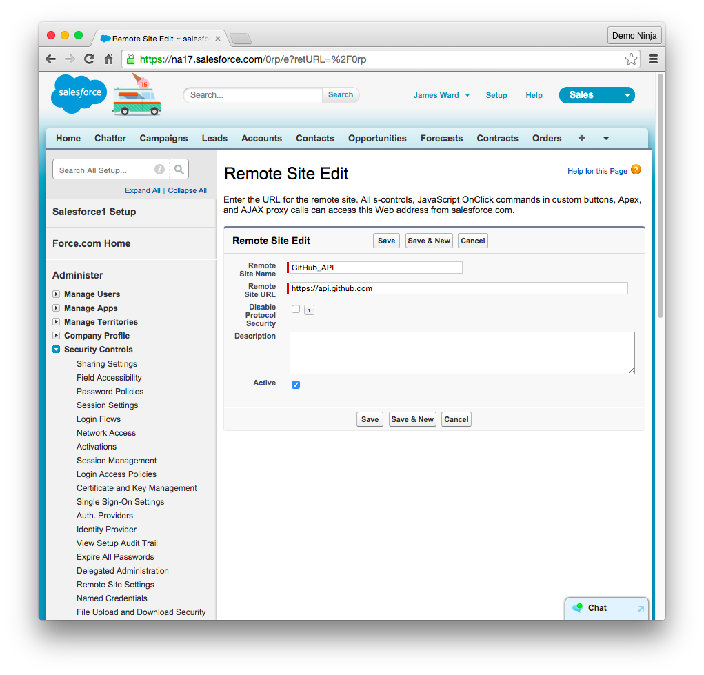 Rendering GitHub JSON Data in Salesforce   Developer Force Blog