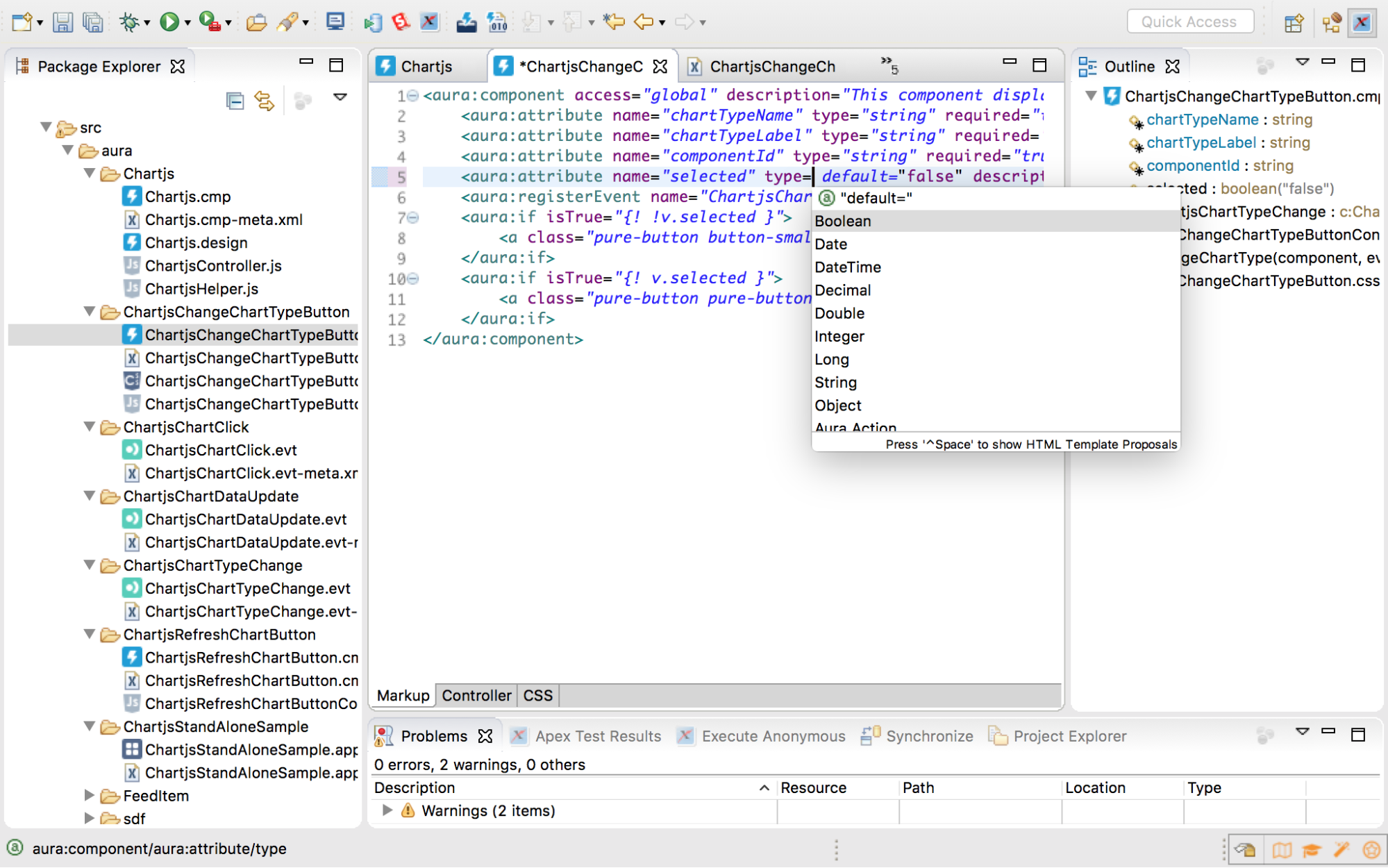 New Lightning Support in the Force com IDE – and Everywhere